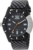 adidas Men's 'ADH-1969' Quartz Plastic and Nylon Casual Watch, Color: (Model: ADH3169)