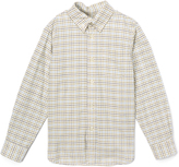 E-Land Kids Olive Tattersall Button-Up - Toddler & Boys