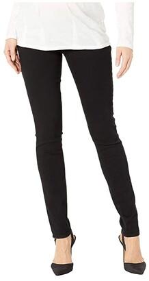 Paige Verdugo Ultra Skinny in Black Shadow (Black Shadow) Women's Jeans