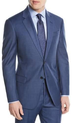 Emporio Armani Two-Piece Wool Sharkskin Suit
