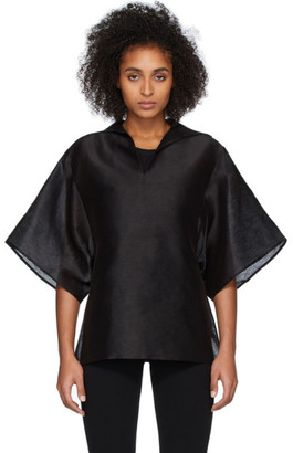 Totême Black Liry Shirt