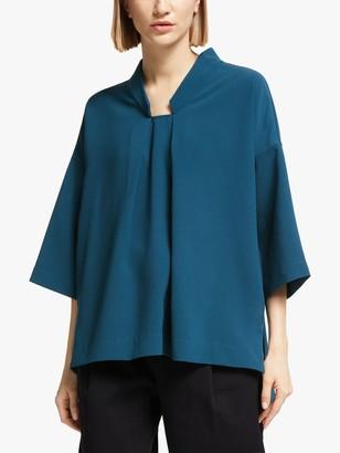 KIN Trapeze Kimono Top, Blue