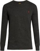 Polo Ralph Lauren Crew-neck long-sleeved cotton T-shirt