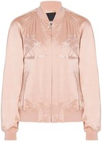 Alexander Wang Embroidered Bomber Jacket
