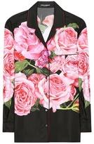 Dolce & Gabbana Floral-printed Shirt