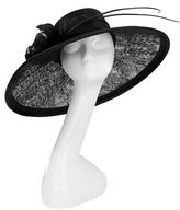 Siggi Feather Quill Wide Brim Hat