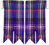 AAR Products New Solid Plain Black, Royal Stewart Tartan Many More Kilt Flashes Multi Colors