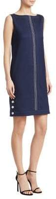Piazza Sempione Sleeveless Wool-Blend Dress