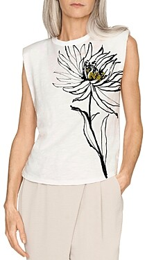 b new york Eco Padded Shoulder Muscle Tee