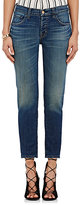 J Brand Women's Sadey Mid-Rise Slim Straight Jeans