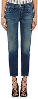 J Brand Women's Sadey Slim Straight Jeans-BLUE, NAVY