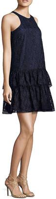 Nha Khanh Gris Racerback A-Line Dress