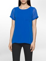 Calvin Klein Double Layer Shirt