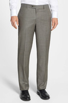 Nordstrom Flat Front Wool Trouser