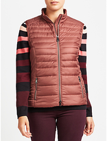 Gerry Weber Quilted Gilet, Mauve