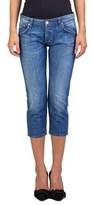 Prada Women's Cotton Straight Fit Jeans Blue.