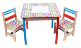 Grow 'N Up Crayola Wooden Table and Chair Set