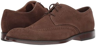 Stacy Adams Wickersham Wing Tip Oxford (Tobacco Suede) Men's Shoes