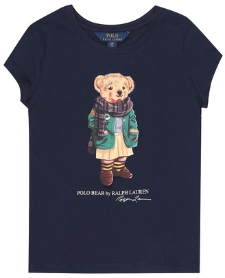 Polo Ralph Lauren Kids Polo Bear cotton T-shirt