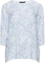 Jette Joop Plus Size Silky paisley shirt