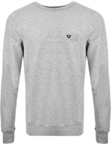 True Religion Crew Neck Sweatshirt Grey
