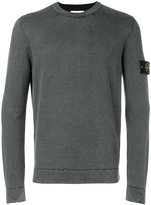 Stone Island fitted long sleeve sweater - men - Wool - S