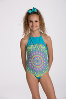 Limeapple Moroccan One-Piece Swimsuit