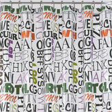 JCP Home Collection JCPenney HomeTM Text Lingo Shower Curtain