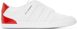 Y-3 White Honja Low-Top Sneakers