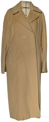 Gerard Darel Beige Wool Coat for Women