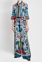 Mary Katrantzou Printed Silk Pants