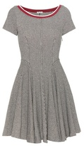 Miu Miu Cotton-blend dress