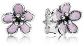 Pandora Earrings - Cherry Blossom Enamel