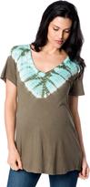 A Pea in the Pod Splendid Tye Dye Maternity T Shirt