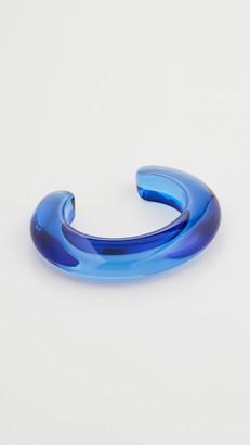 Lizzie Fortunato Ridge Cuff In Electric Blue
