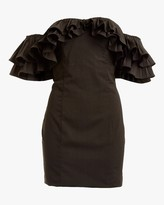 Lulu Mestiza Faille Mini Dress