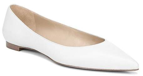 08a829d2b63e White Pointed Toe Women's flats - ShopStyle
