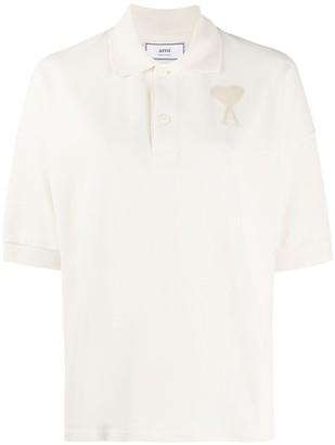 AMI Paris Ami de Coeur polo shirt