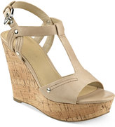 Marc Fisher Helma Platform Wedge Sandals