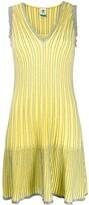 M Missoni striped metallic midi dress