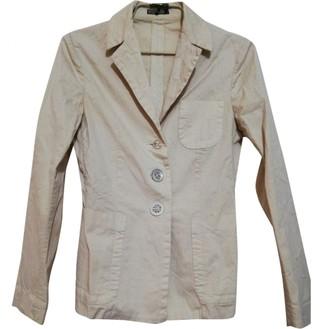 Maliparmi Beige Cotton Jacket for Women