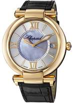 Chopard Imperiale Silver Mother of Pearl Dial Ladies Watch