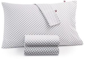 Tommy Hilfiger T180 Daisy Halfdrop Twin Xl Sheet Set Bedding