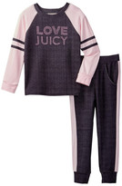 Juicy Couture Love Juicy Raglan Top & Pant Set (Toddler Girls)