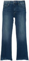 Paige River wide leg crop jeans - women - Cotton/Spandex/Elastane - 23