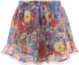 Zimmermann Lovelorn Floral Shorts