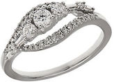 Lord & Taylor Diamond and 14K White Gold Ring, 0.5TCW