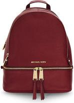 Michael Michael Kors Rhea Small Leather Backpack