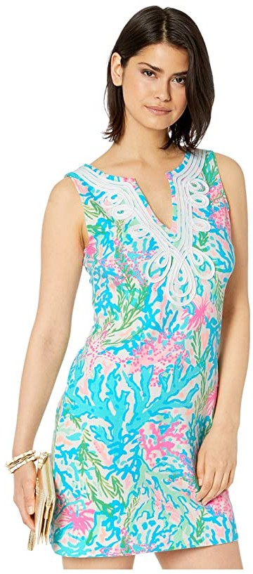 Lilly Pulitzer Harper Shift (Multi Coral Bay) Women's Dress