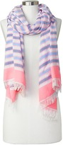Gap Bright stripe scarf